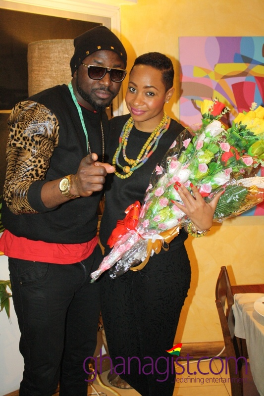 Pokello and Elikem at La Boutique Hotel