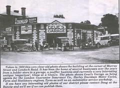 Gawler businesses 1929 Bunyip 10Oct2001