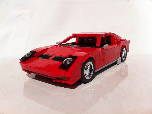 1969 Lamborghini Miura   LEGO LEAKS レゴ 車作品 「1969