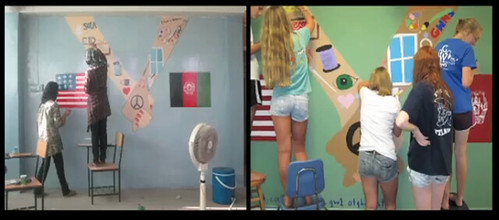 Afghan-US Kabul-DC Murals (Collaborative Project) - Global Citizenship in Action | by globalnomadsgroup