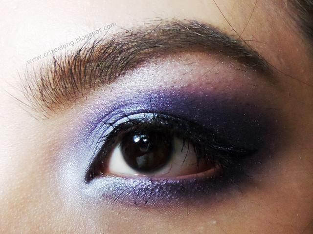 lavender eyes, eotd, makeup look, wet and wild coloricon palette in petal plusher, wet and wild, petal plusher, avon, avon true color eyeshadow quad, beauty blog, eotd philippines, filipina blogger