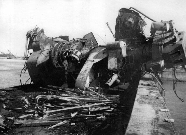 Luftwaffe Stuka ace Hans Rudel single-handedly destroys Soviet battleship Marat