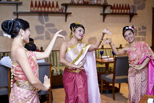 Journey to Thailand - Graceful Thai dancers
