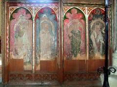 SOUTH: Four Evangelists: John, Luke, Mark, Matthew (15th Century)