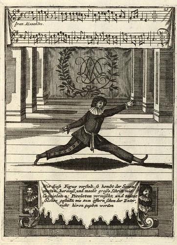 006- Neue und curieuse theatrialische Tantz Schul…1716- Gregory Lambranzi-Biblioteca Digital Hispanica