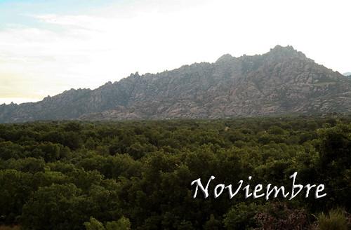 Noviembre-La Pedriza