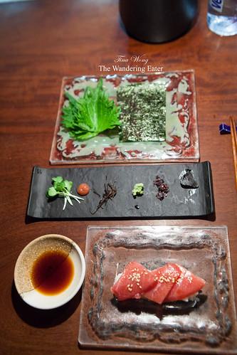 Course 12 - Te maki entretenido de toro (a DIY maki rolls with tuna toro)