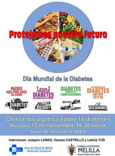 cartel diabetes. Día Mundial 2013