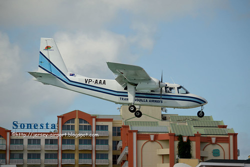 VP-AAA  Britten-Norman BN-2A-21 Islander by Jersey Airport Photography