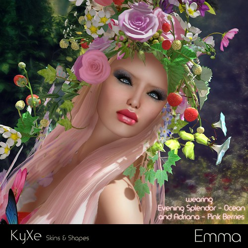 Kyxe Beautiful Faces - Emmanuelle Jameson
