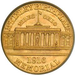 McKinley dollar reverse