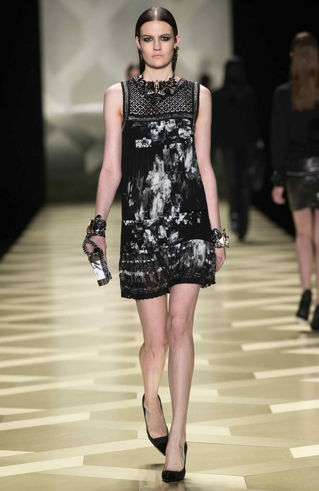 8 dress short  Roberto_Cavalli_FW2013-14