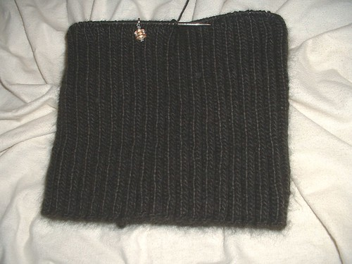 lovely ribbed cowl 11-26-13