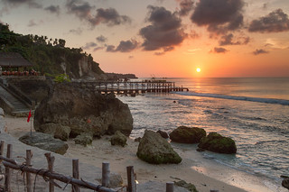 Sunset from the Rock Bar, Ayana Resort, Bali
