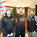 Mark Menicucci, Jeremy Salamandyk and Blake Moynes (Hockey Dec 4, 2013)