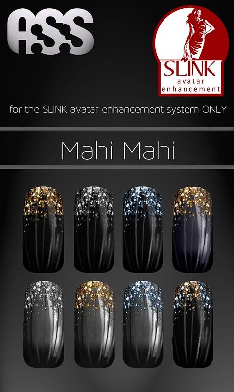 A:S:S - SLINK Nail appliers - Mahi Mahi