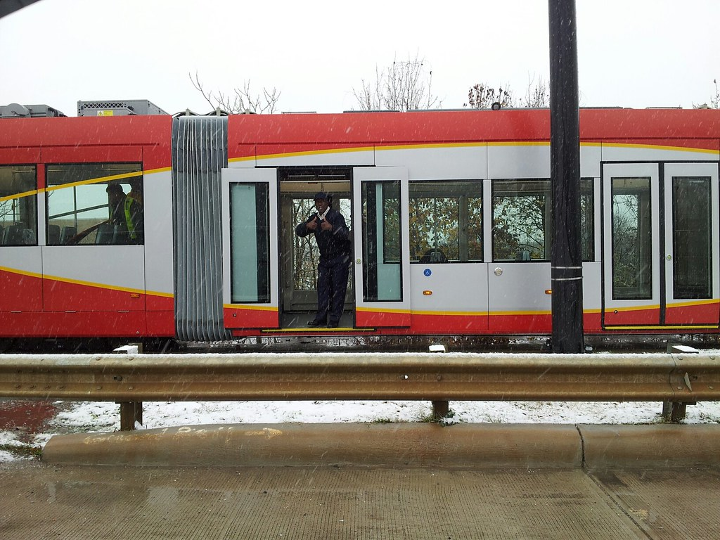 DC Streetcar Testing over at the Testing and Commissioning Site