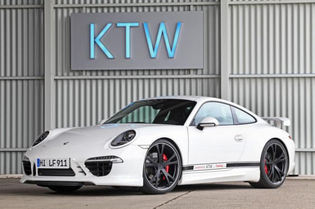 Porsche 911 Carrera S by KTW Tuning and TechArt