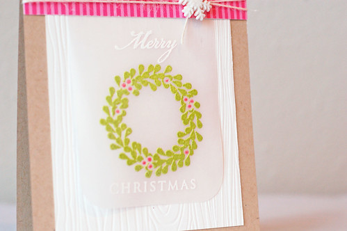 Wreath_pinkgreen_Merry Christmas_2013_01