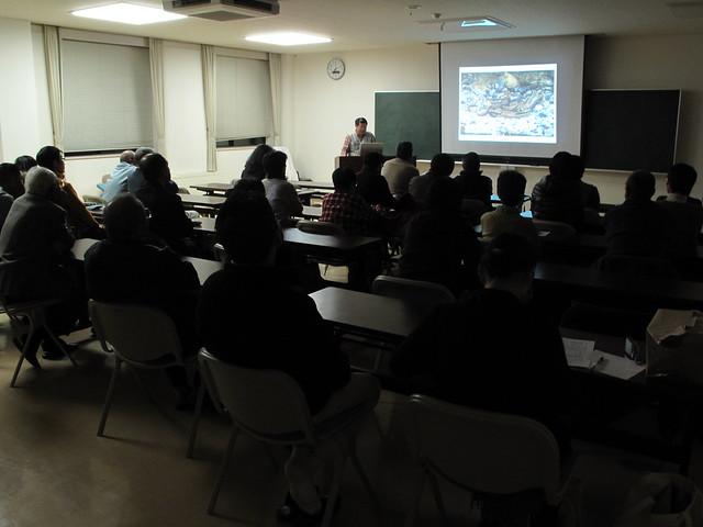 日本初のスナヤツメの繁殖行動を撮った写真も紹介.