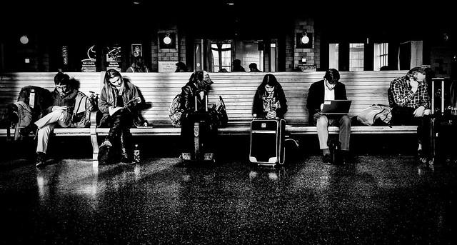 Awaiting Departure