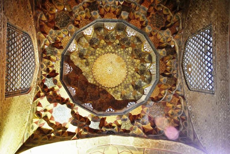 217 techo de la mezquita de la Plaza Central de Kerman (12)