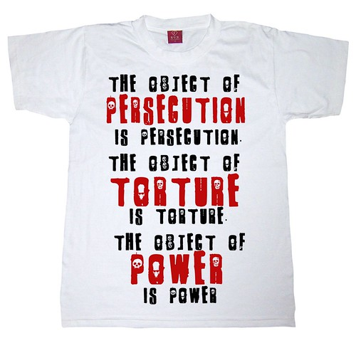 Orwell's T-shirt by Teacher Dude's BBQ