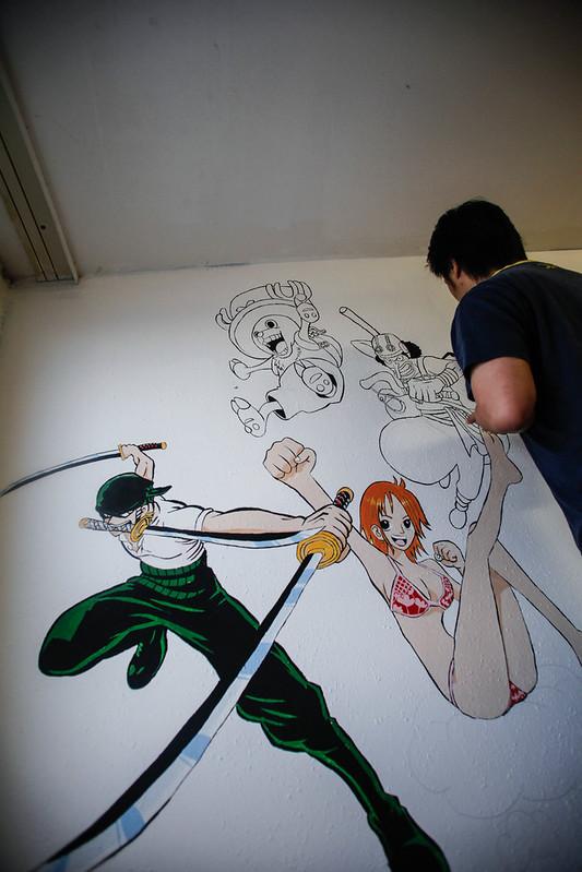 One Piece Wall art