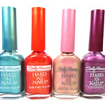 Sally Hansen Spectrum Frost, Vivid Frost, Sizzles Frost, Stormy Frost