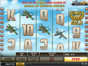Wings of Gold slot game online review