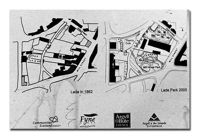 Lade Park Plans, Rothesay, Isle of Bute, Scotland