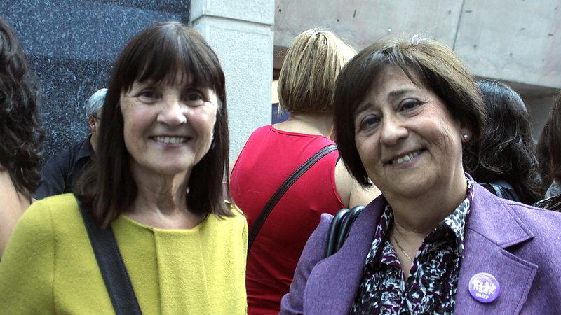 Gunilla Dahlberg y Selma Simonstein