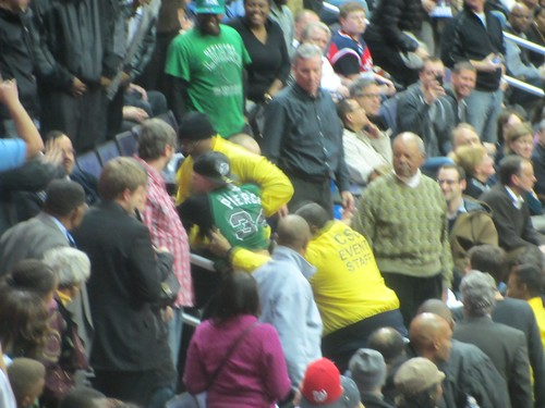 Washington Wizards, Boston Celtics, Truth About It, Adam McGinnis, Ejected, Fans