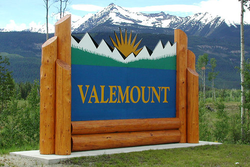 Valemount, Yellowhead Highway 5, British Columbia, Canada