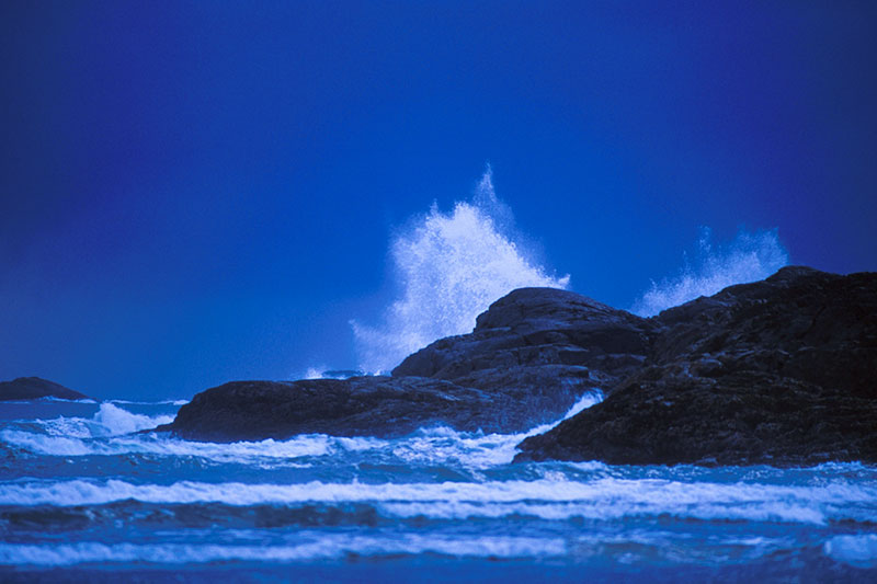 Pacific Ocean Storm, Long Beach, Tofino, West Coast Vancouver Island, British Columbia