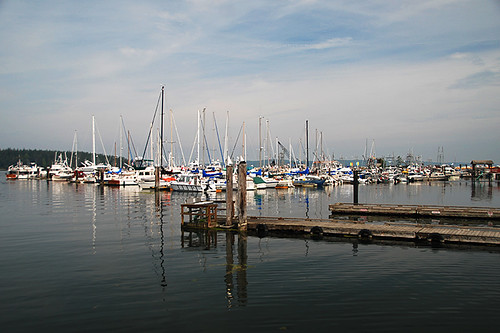 Marina in Port McNeill, Vancouver Island, British Columbia, Canada