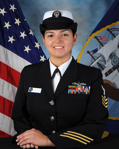 QM1(SW) Erika A. Lira - Assault Craft Unit Five 2013 Sailor Of The Year Finalist