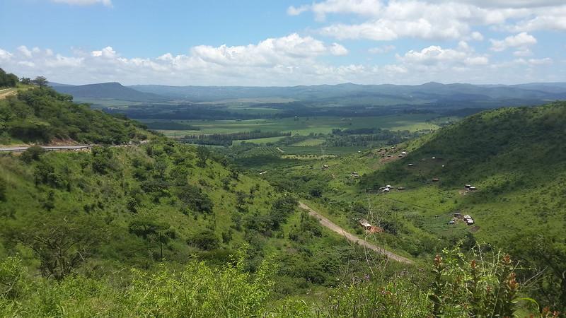 Climbing to Eshowe