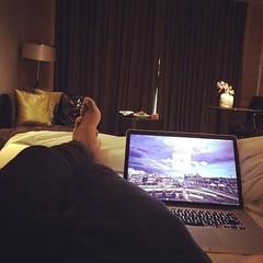 Lazy & jetlagged #hotel #bangkok #thailand