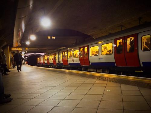 <p>Eastbound tube</p>