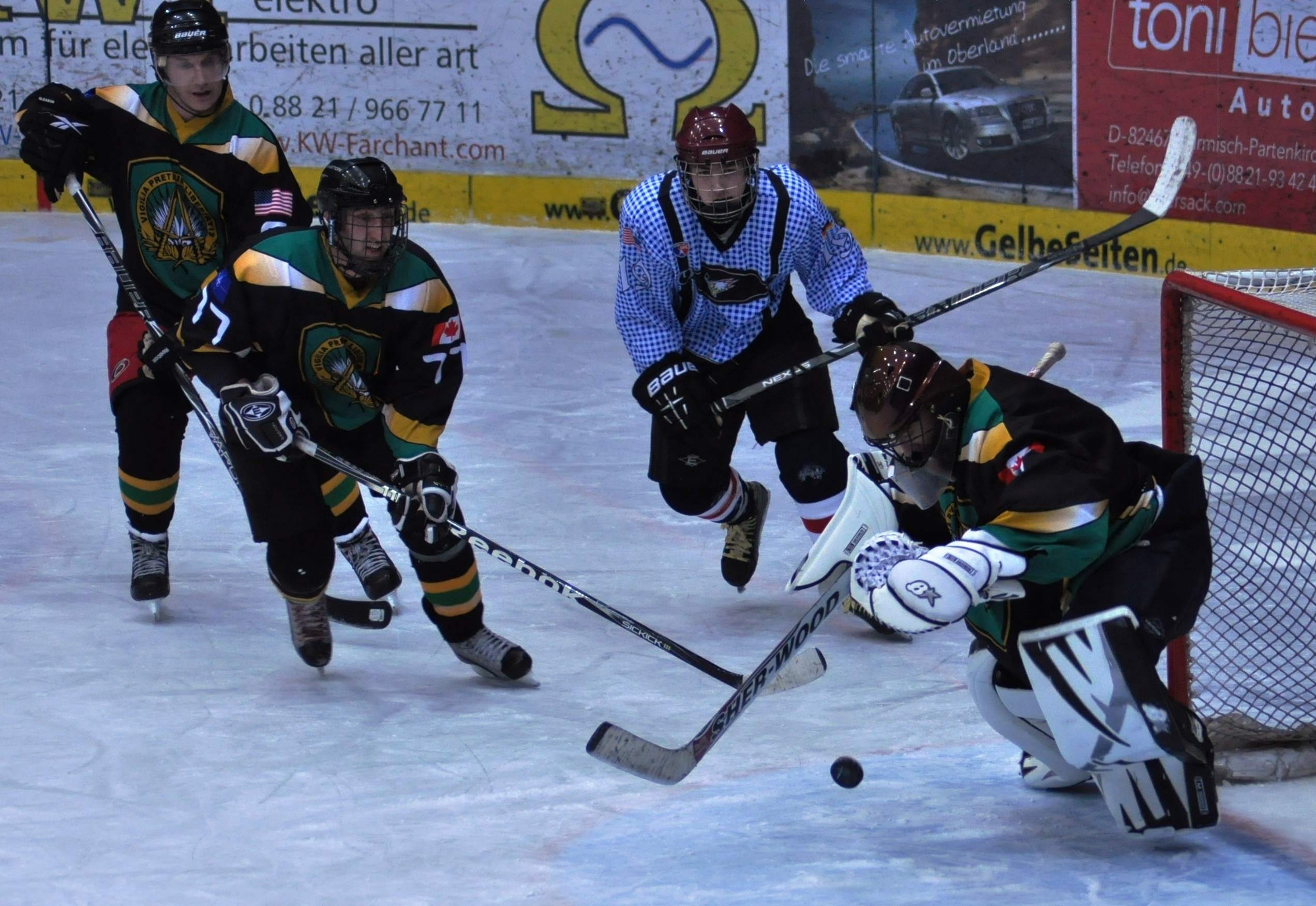hockey leagues in europe