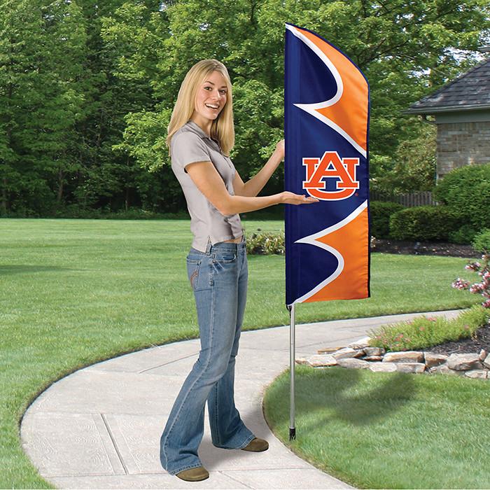 Auburn Short Feather Flag