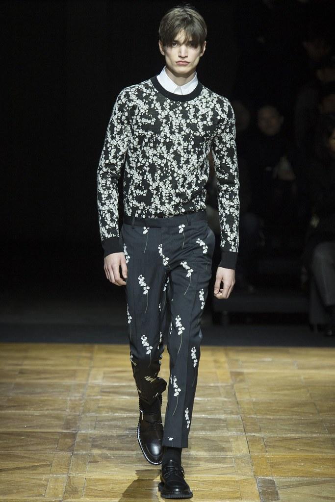 FW14 Paris Dior Homme030_Alexander Ferrario(VOGUE)
