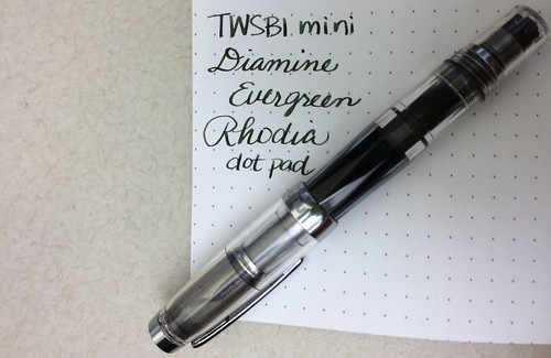 TWSBI mini fountain pen