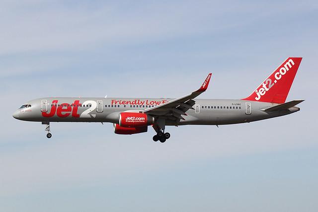 Jet2 - B752 - G-LSAC (1)