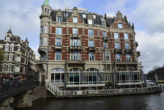 Image of Belle. bridge holland amsterdam architecture style waterway