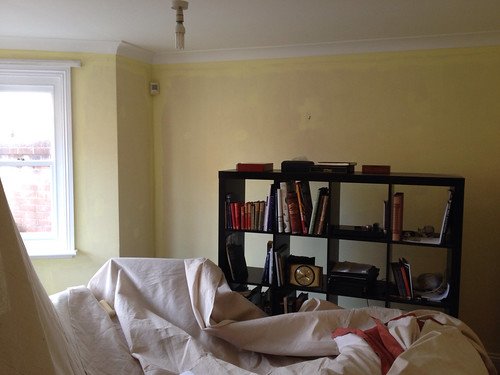 Mimosa paint, front room