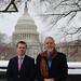 Jacob Bender and Ryan Tack-Hooper Visit Washington, D.C.