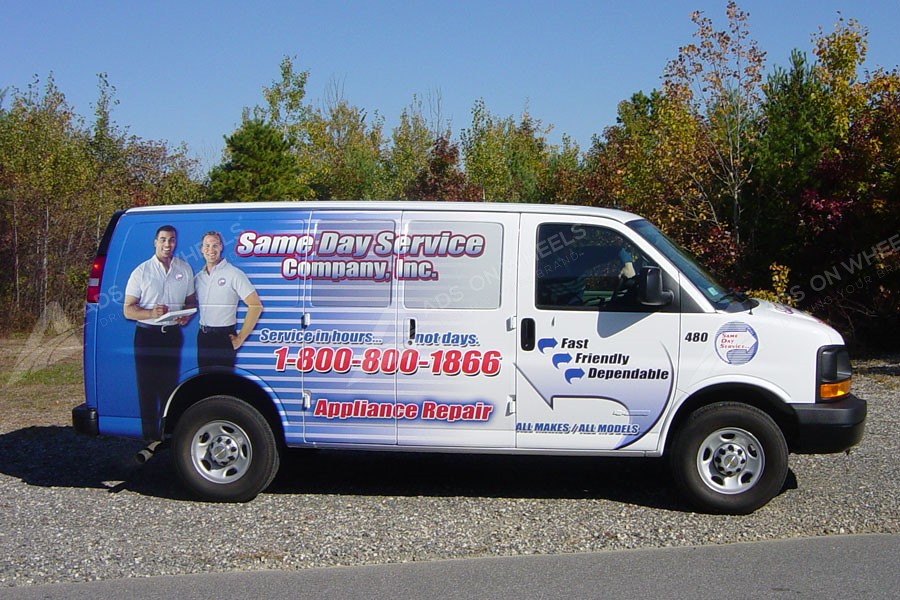 Cargo Van Wraps Vehicle Wraps Fleet Graphics Mobile Billboards
