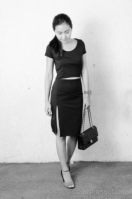 black-high-slit-dress
